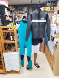 ウェットスーツ ロングジャケット ロングジョン セイバークロス キラー限定 リミテッドハイサマー