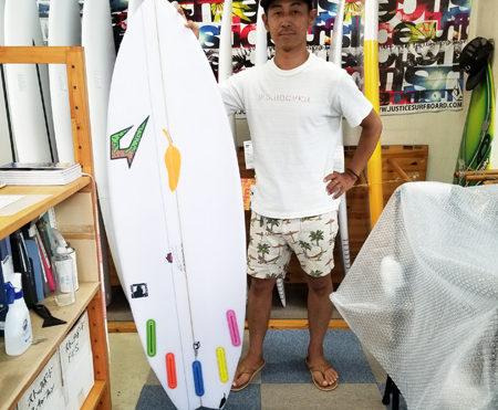 サーフボード ジャスティス ブラックバルチャー チリ