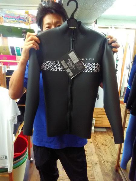 ウエットスーツ SAVER CROSS 夏用ウエット フロントジップジャケット