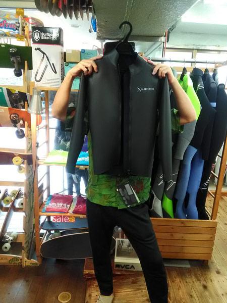 ウエットスーツ SAVER CROSS フロントジップジャケット