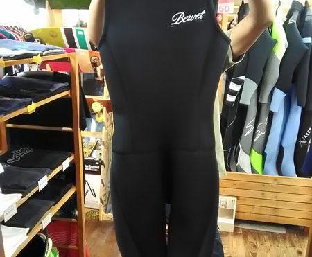 ウエットスーツ BEWET ショートジョン