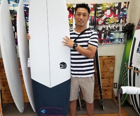 サーフボード クロスギア ファンボード