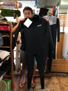 ウェットスーツ セヴン キラー限定 バックジップ