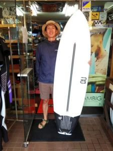 サーフボード クロスギア サーフィン上達