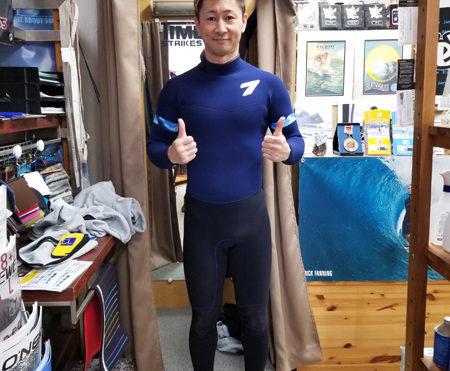 ウェットスーツ セブン キラー限定 ジャーフル 3フル