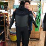 ウェットスーツ セイバークロス シェル キラー限定