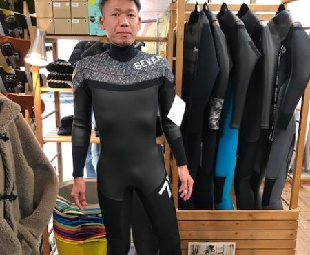 ウェットスーツ セヴン シェル セミドライ