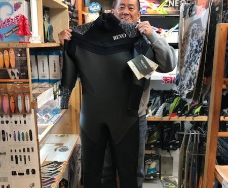 ウェットスーツ レボ シェル ギガヒートプラス