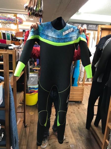 ウェットスーツ セイバークロス  シェル ギガヒートプラス