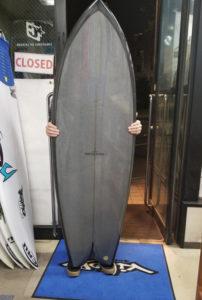 サーフボード ピース ツウィンフィッシュ