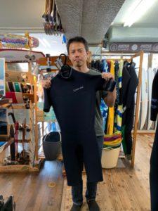 ウェットスーツ セイバークロス キラー限定 バックジップ スプリング