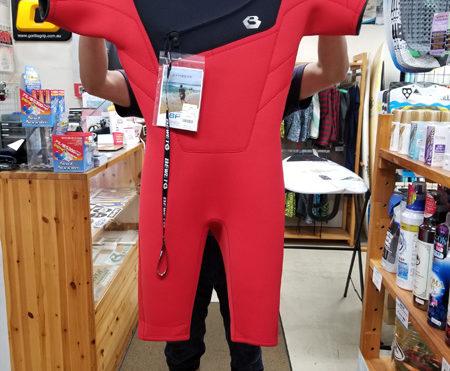 ウェットスーツ ビーウェット フリーショルダースプリング