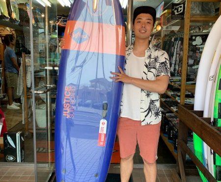 サーフボード ジャスティス ソフテック スポンジボード