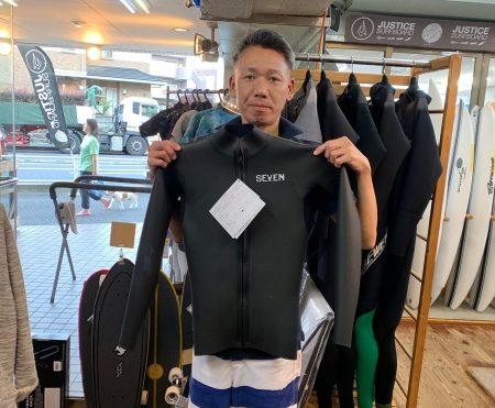 ウェットスーツ セヴン ハイサマー ロングタッパー フロントジップ