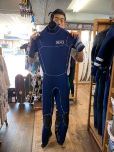 ウェットスーツ レボリューション キラー限定 シーガル バックジップ