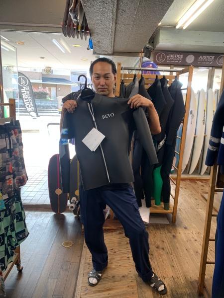 ウェットスーツ レボ ユニボーダー  フロントジップ  ロングジャケット