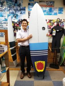 サーフボード クロスギア 初心者サーフィンボード