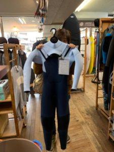 ウェットスーツ BEWET ブースト W-FLAP ジャーフル