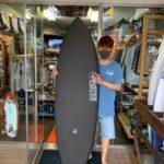 サーフボード ジャスティス ラプター 2 クロコダイルスキン