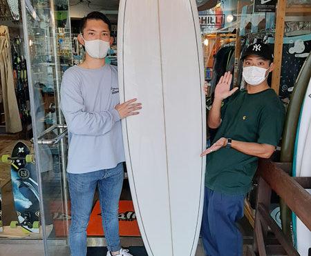 上達サーフボード