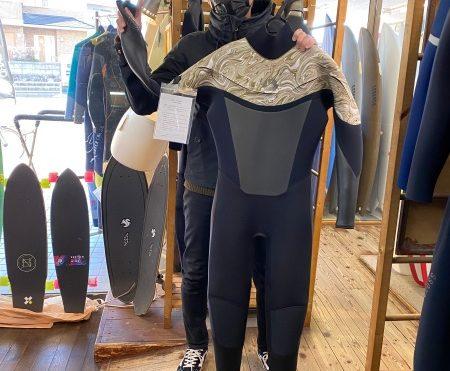 ウェットスーツ BEWET キラー限定 インフィニティ セミドライ