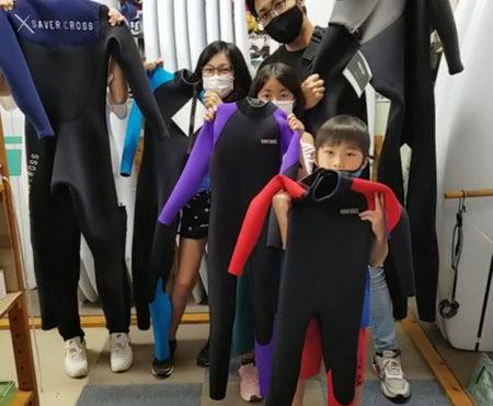 ウェットスーツ セイバークロス ファントム キッズ