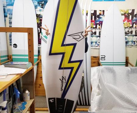 サーフボード ジャスティス 80s